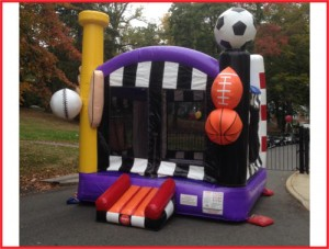 Deluxe Sports Bounce House