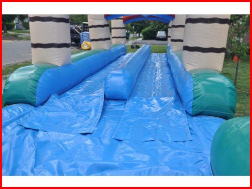 Dual Lane Slip & Slide 1